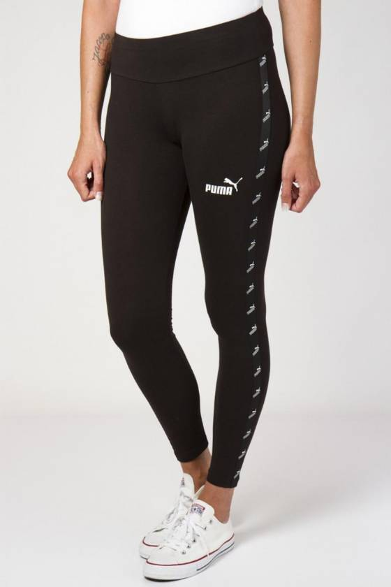 TAPE LEGGINGS COTTON BLACK...