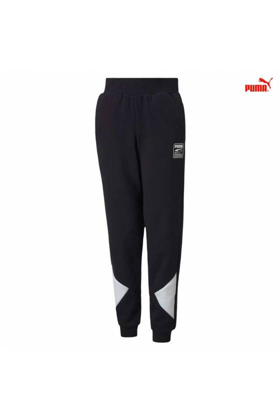 REBEL BLOCK SWEATPANTS FL...