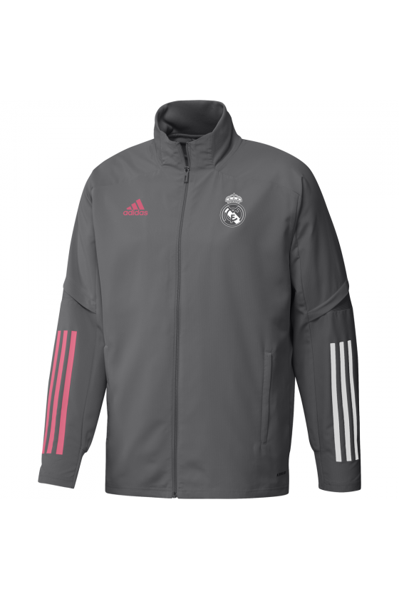CHAQUETA PREPARTIDO REAL MADRID 20/21