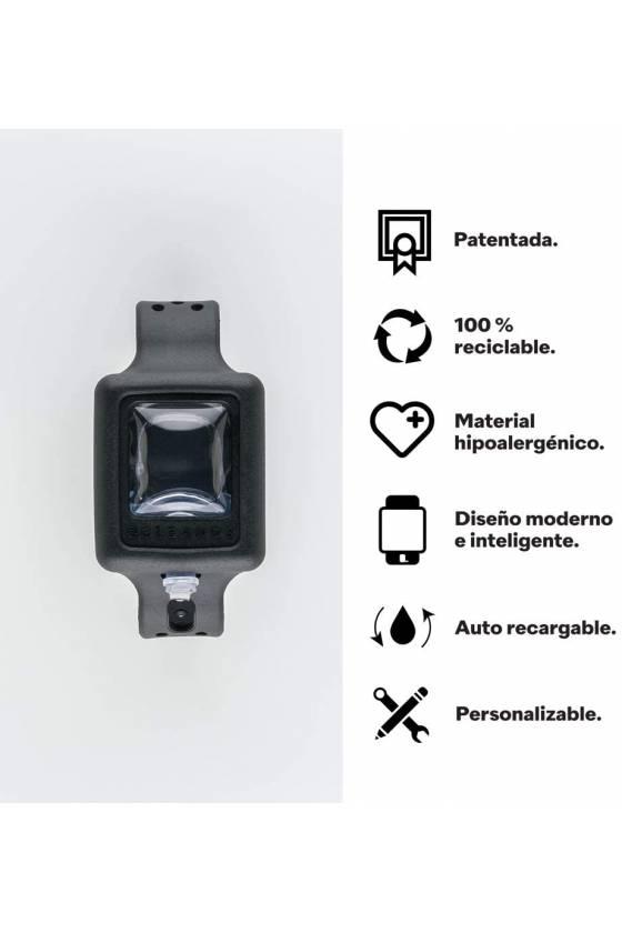 PULSERA DE GEL HIDROALCOHOLICO BLANCA