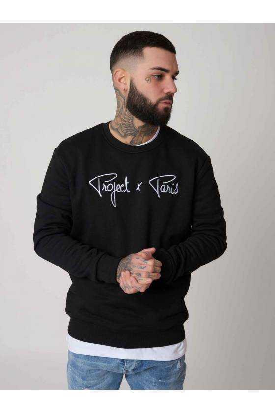 SUDADERA EMBROIDERED CHEST...