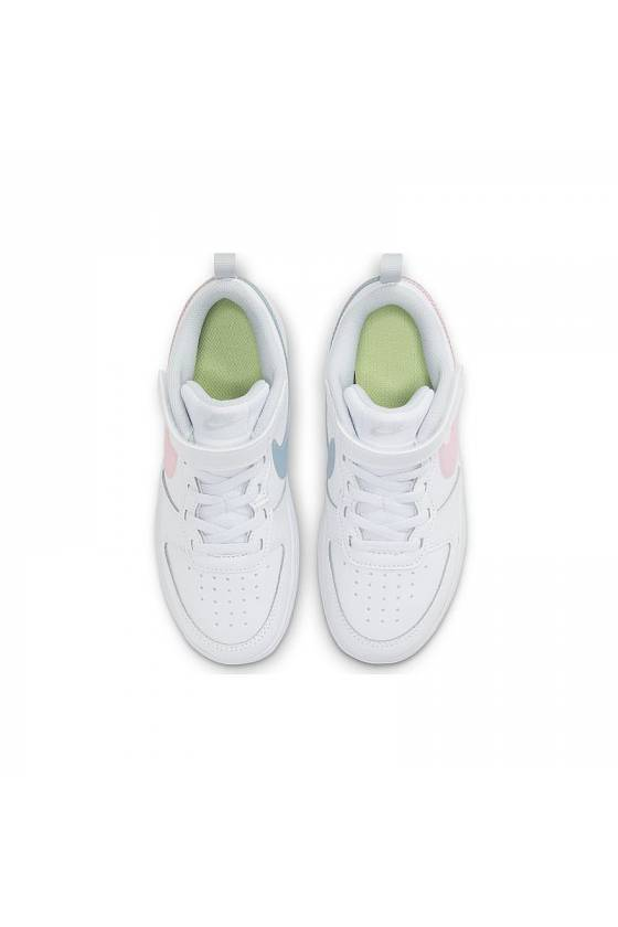 Zapatilla Nike Court Borough Low WHITE/ARCT-masdeporte