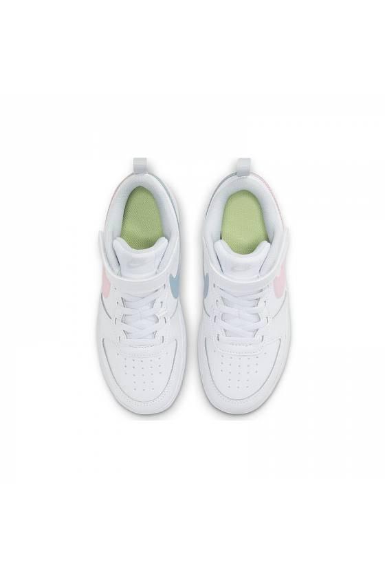 Zapatilla Nike Court Borough Low WHITE/ARCT
