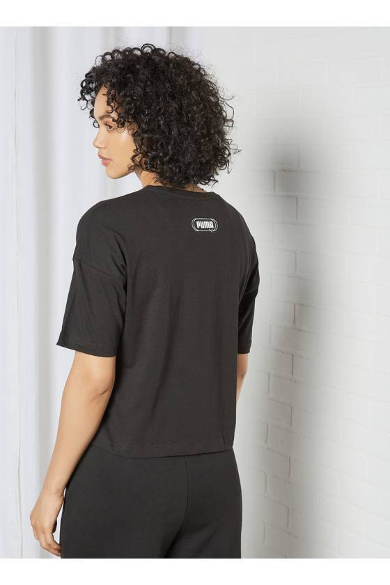 Rebel Fashion Tee Puma Black SP2021
