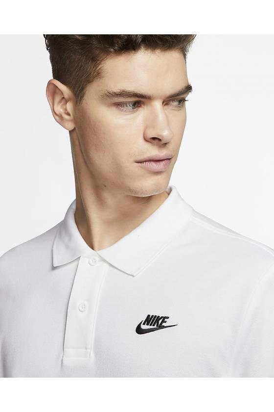 Polo Nike Sportswear WHITE/BLAC