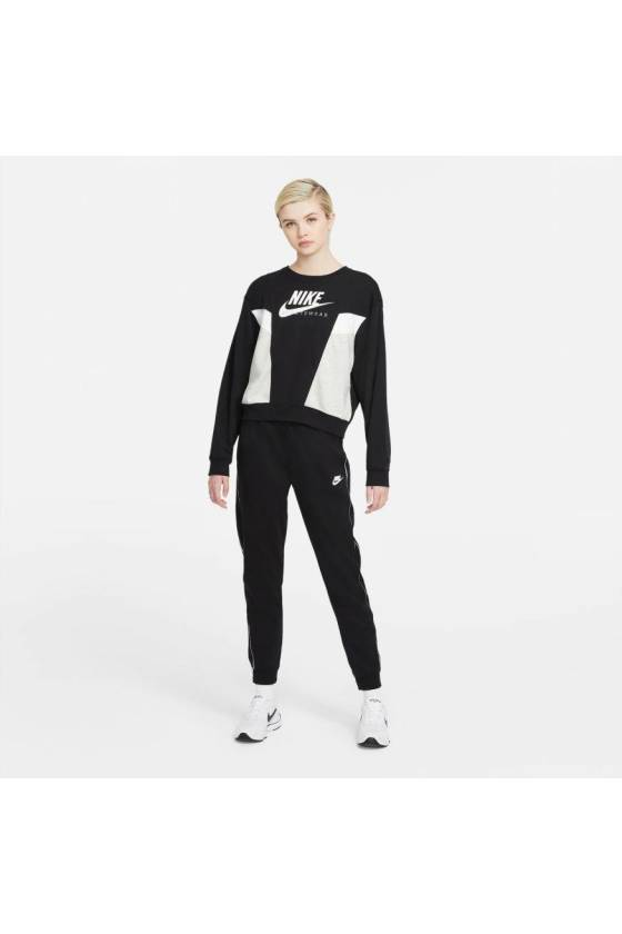 Sudadera Nike Sportswear Herita BLACK/GREY