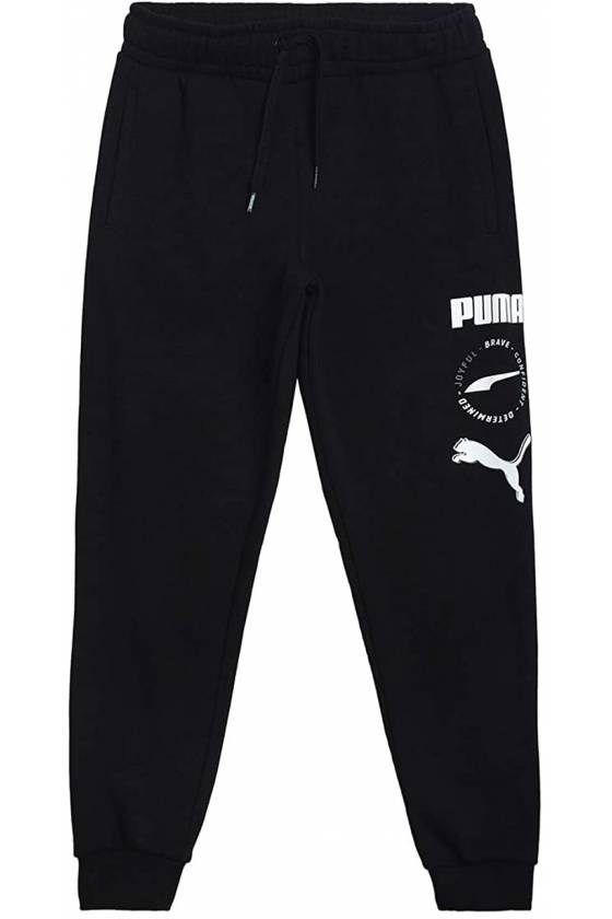 Pantalones Alpha Sweatpants TR cl Puma Black SP2021