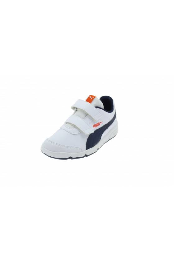 Zapatillas Stepfleex 2 SL VE V PS Puma White - mas deporte