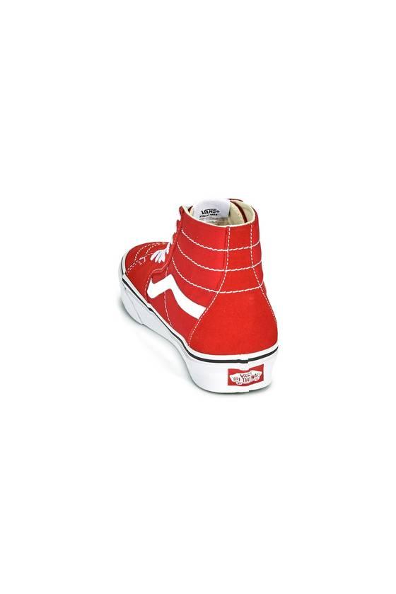 Zapatillas UA SK8-Hi Tapered RACING RED - masdeporte