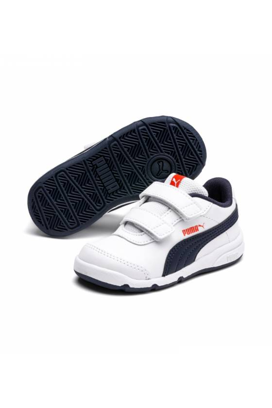 Zapatillas-Stepfleex 2 SL VE V In Puma White-masdeporte