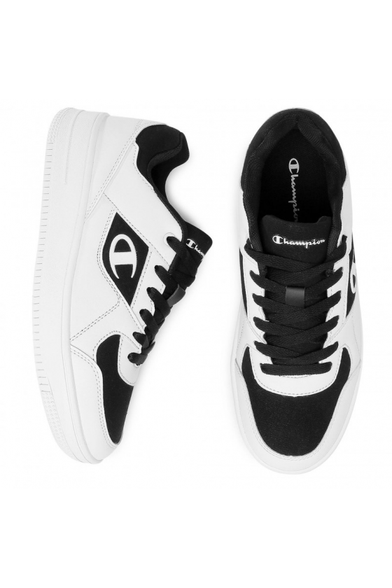Zapatillas - Low Cut Shoe REBOUND L WHT/NBK/OR - masdeporte