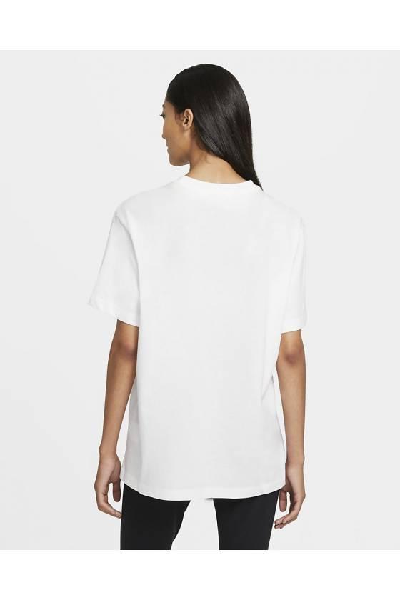 Camiseta Nike Sportswear Essent WHITE/BLAC-masdeporte