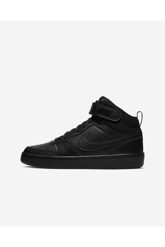 Zapatillas Nike Court Borough Mid BLACK/BLAC-masdeporte