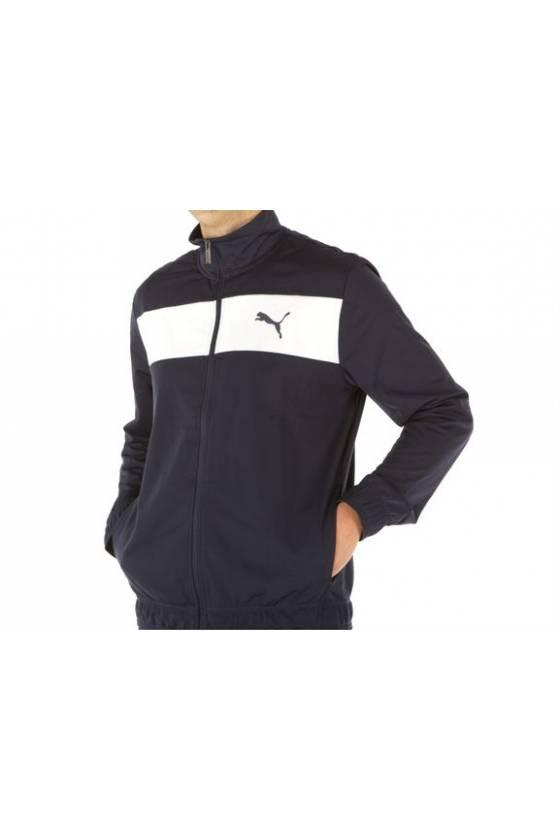 Techstripe Tricot Suit Puma Black SP2021