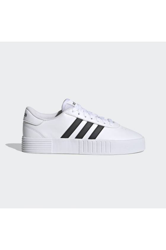 Zapatillas Adidas COURT BOLD FTWBLA/NEG - masdeporte