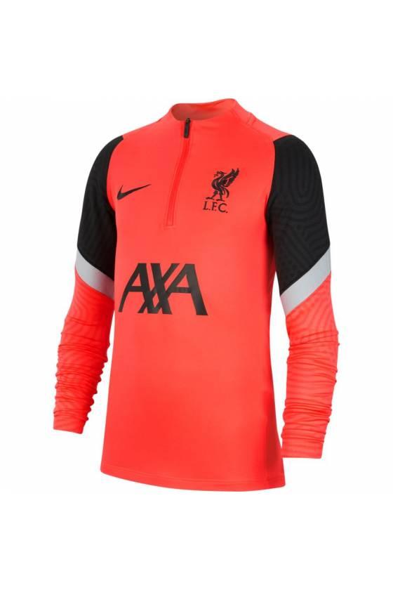 Camiseta funcional Liverpool FC Strike LASER CRIM Junior -masdeporte