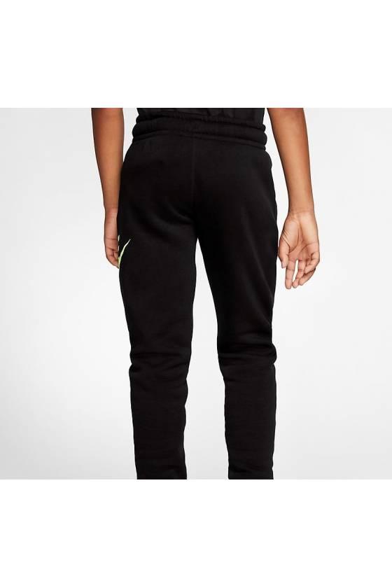 Pantalones Nike Sportswear Club F BLACK/BARE- masdeporte