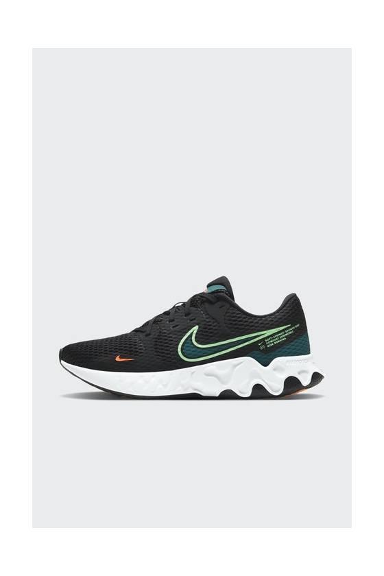 Zapatillas Running Nike Renew Ride 2 BLACK/LIME - masdeporte
