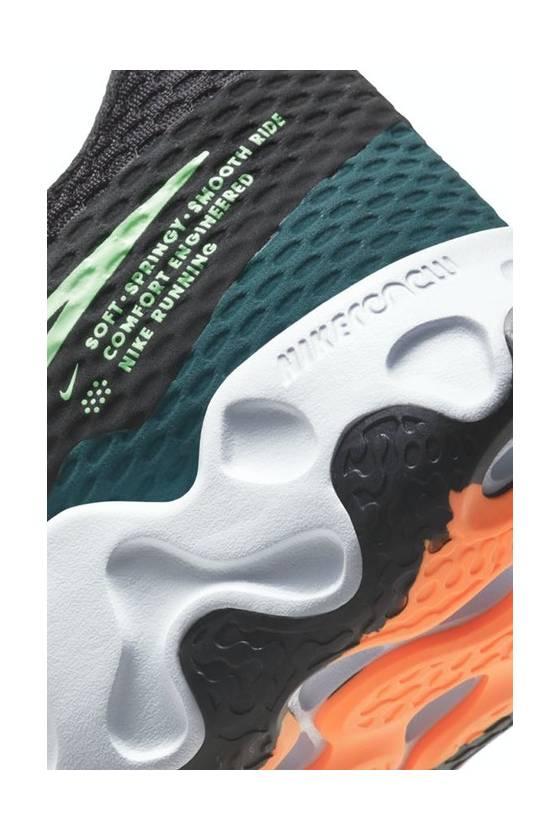 Nike Renew Ride 2 BLACK/LIME SP2021