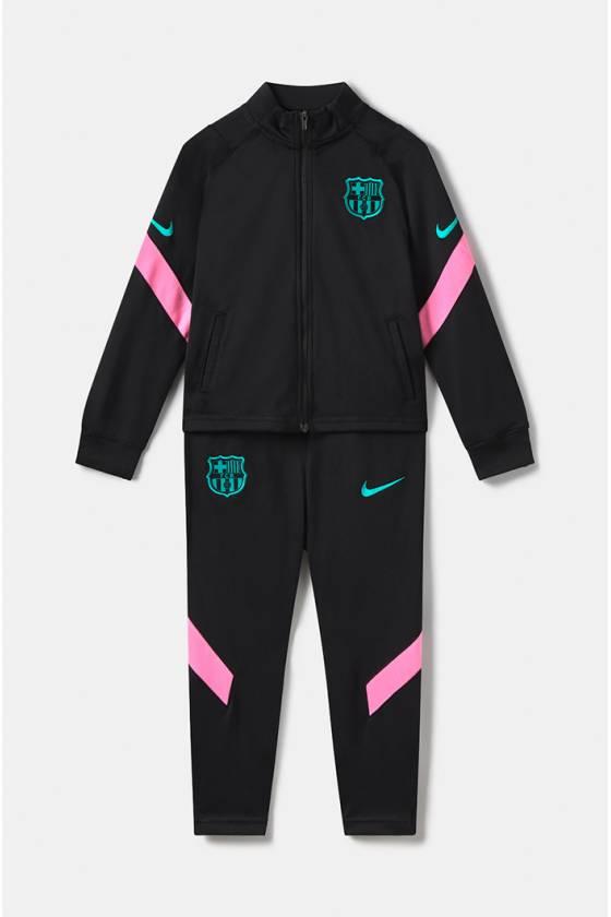 Chándal FC Barcelona - Niño pequeño- FCB LKNK DRY STRK TRKSUIT K C 010 - masdeporte