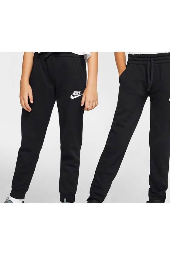 Pantalones largos Nike Sportswear Club F BLACK/BLAC-junior-masdeporte