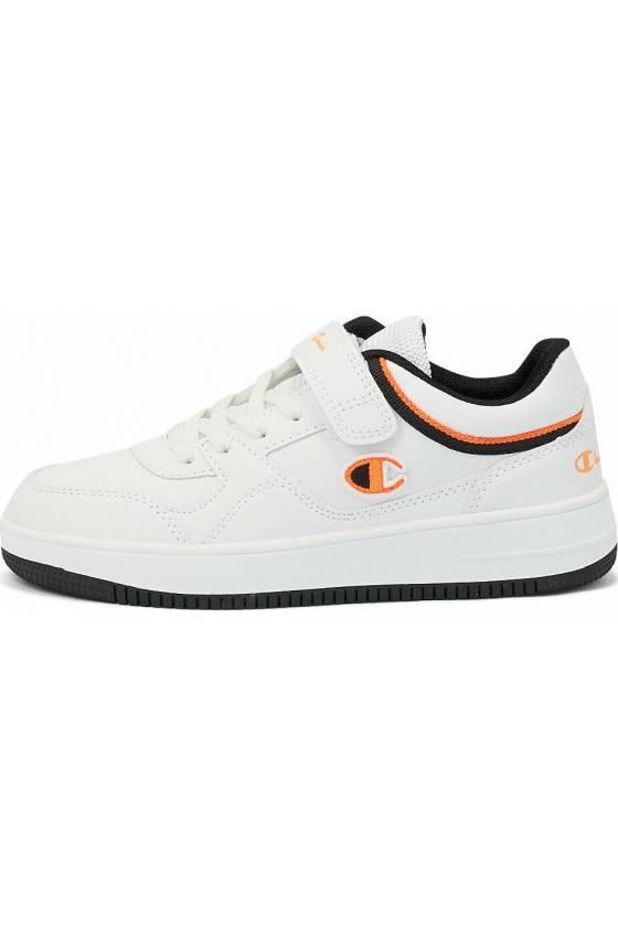 Zapatillas Low Cut Shoe REBOUND L WHT/ORG/NB -masdeporte