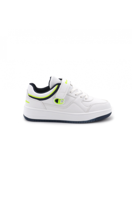 Zapatillas Champion Low Cut Shoe REBOUND L WHT/NNY/SY