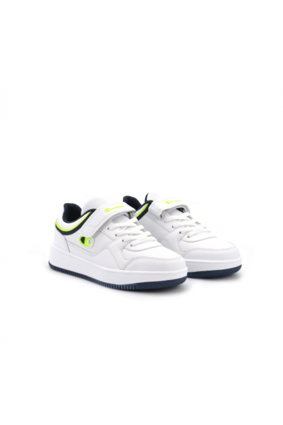 Zapatillas Champion Low Cut Shoe REBOUND L WHT/NNY/SY - masdeporte
