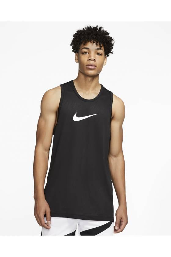 Camiseta Nike Dri-FIT BLACK/WHIT - masdeporte