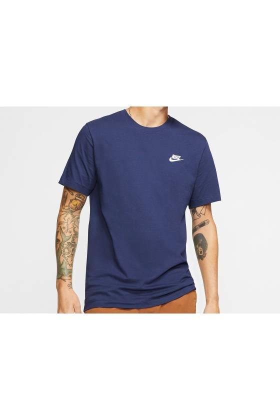 Camiseta Nike Sportswear Club MIDNIGHT N - masdeporte