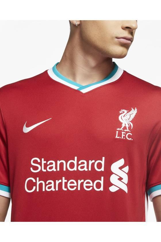Primera Equipación Stadium Liverpool FC 2020-2021 - masdeporte