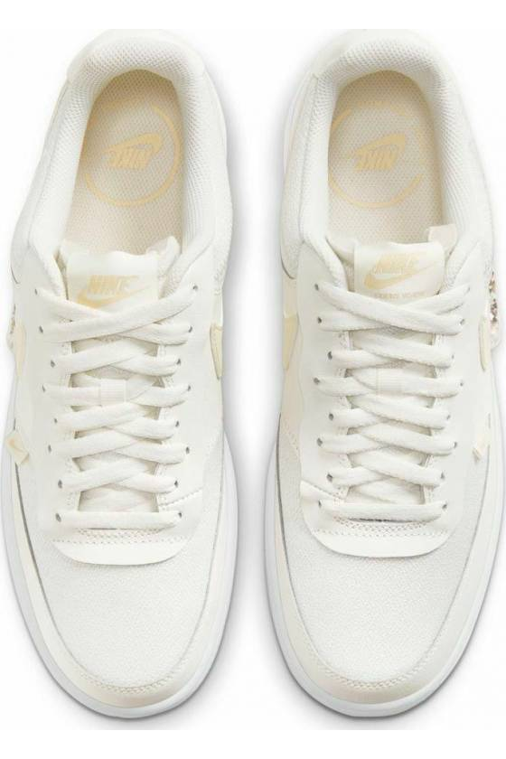 Zapatillas Nike Court Vision Low  SAIL/LEMON - masdeporte