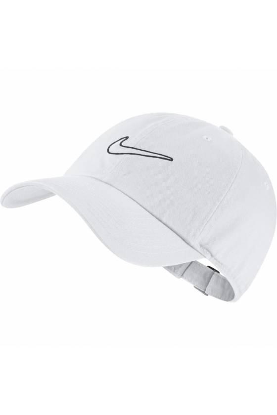Gorra Nike Sportswear Herita WHITE/WHIT - masdeporte