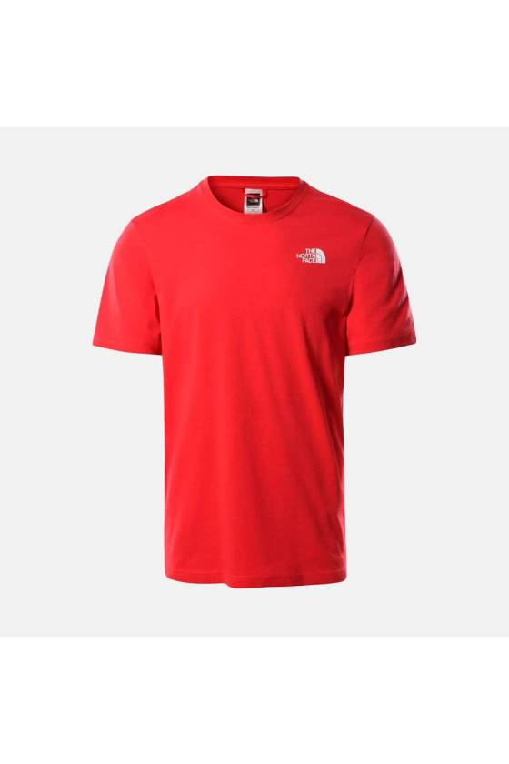 M S/S RED BOX TEE Rococco...