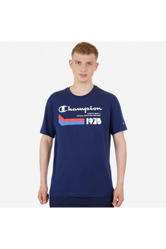 Camiseta Champion Athletic dark blue -  masdeporte
