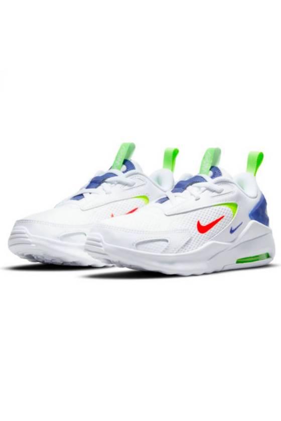 Zapatillas Nike Air Max Bolt WHITE/BRIG Junior-masdeporte