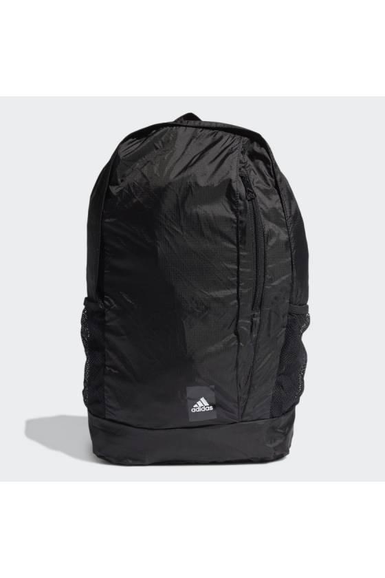Mochila Plegable Adidas Training Black / White - masdeporte