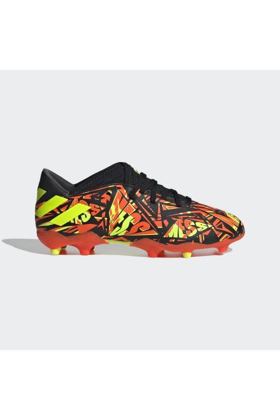 Bota de fútbol Adidas NEMEZIZ MESSI.3 ROJSOL/AMA-FW7315_02-masdeporte