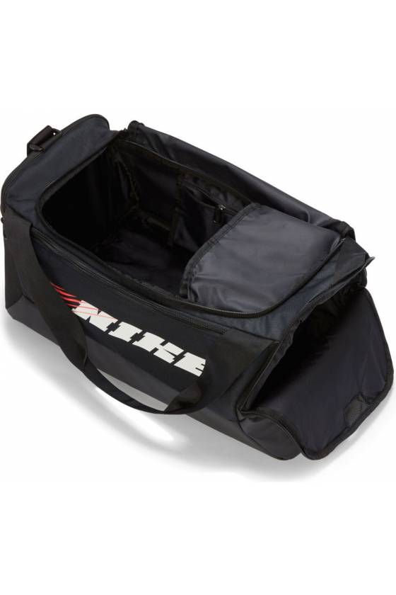Bolsa Nike Brasilia BLACK/BLACK -masdeport-msdsport