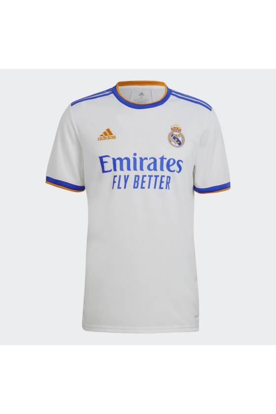 Camiseta Adidas Primera Equipacion Real Madrid 21/22 - msdsport - masdeporte