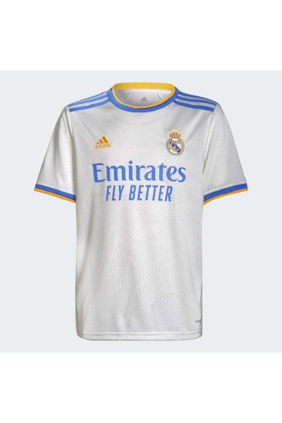 Camiseta Adidas primera equipación Real Madrid Junior - msdsport - masdeporte