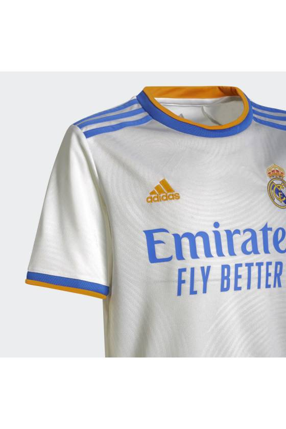 Camiseta Adidas Equipación Real Madrid Junior 21/22 - msdsport - masdeporte