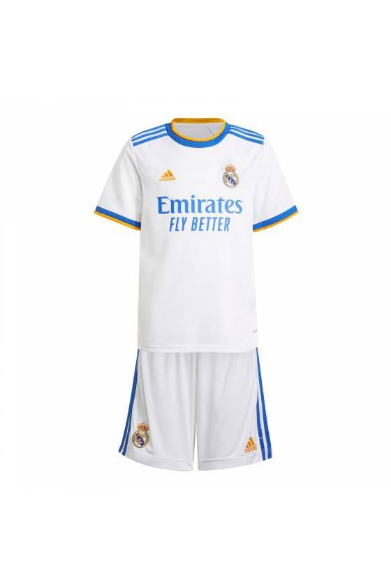 MiniKit infantil Adidas Real Madrid 21/22 - msdsport - masdeporte