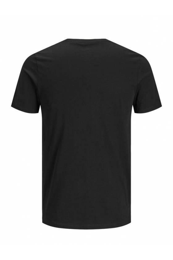 Camiseta Jack-and-jones-msdsport - 12151955-BLKW