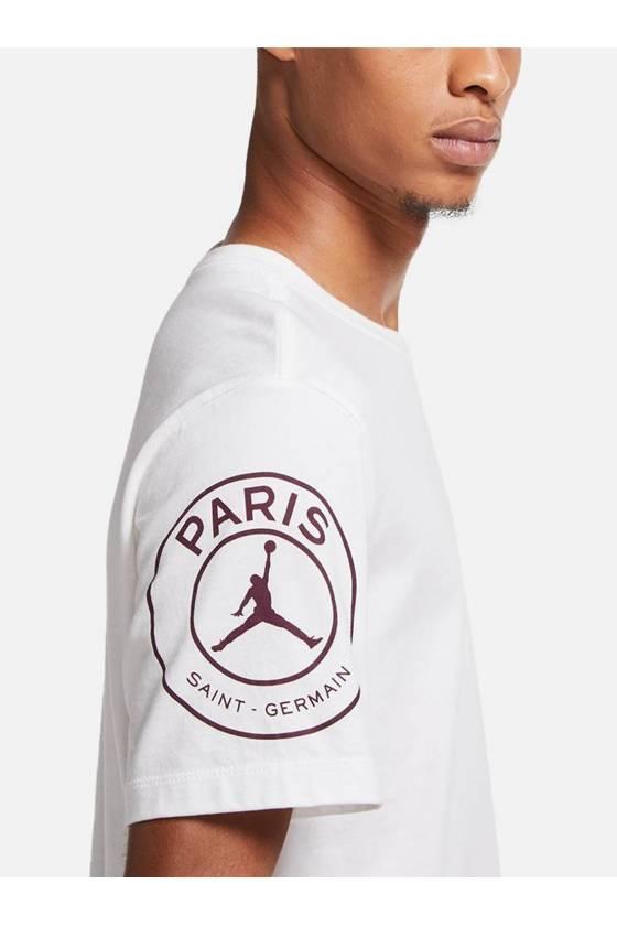 Paris Saint-Germain Logo WHITE SP2021
