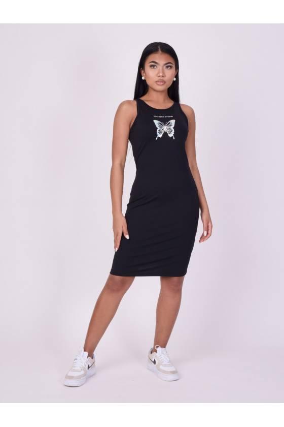 Vestido veraniego Mujer  Proyect x París F217056-BK - masdeporte -Msdsport