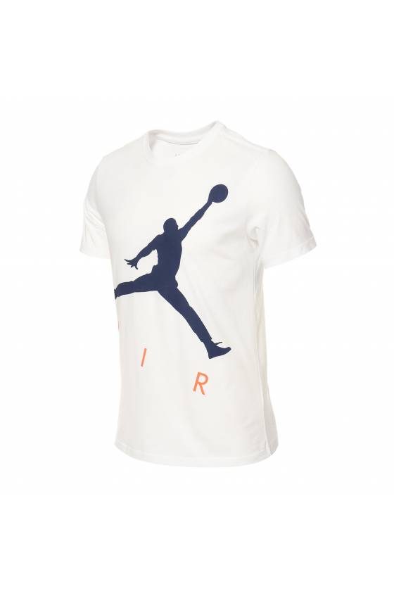 Camiseta Nike Jordan Jumpman Air HBR - blanca - Msdsport by Masdeporte