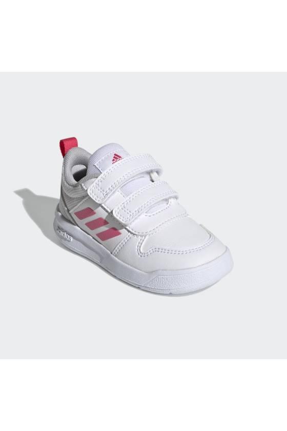 Zapatillas para bebe Adidas Tensaur - rosa/blanco- Msdsport by Masdeporte
