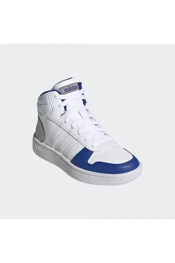 Zapatillas para niños Adidas Hoops MID 2.0 - white