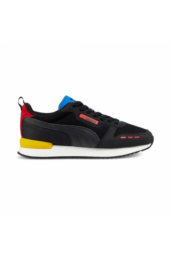 Zapatillas Puma R78 Black-...